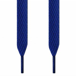 Lacets plats extra larges bleu