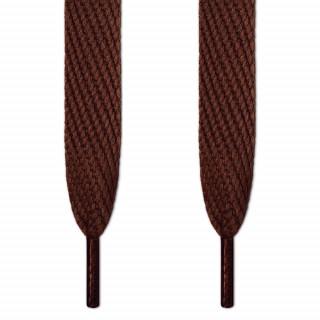 Lacets extra large marron foncé