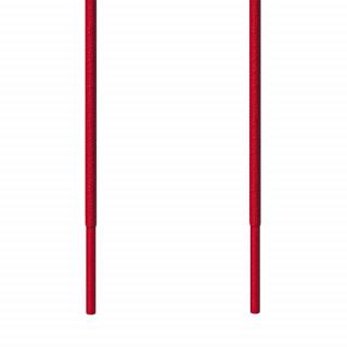 Lacets fins rouge