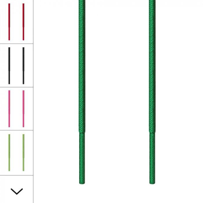 Lacets fins vert