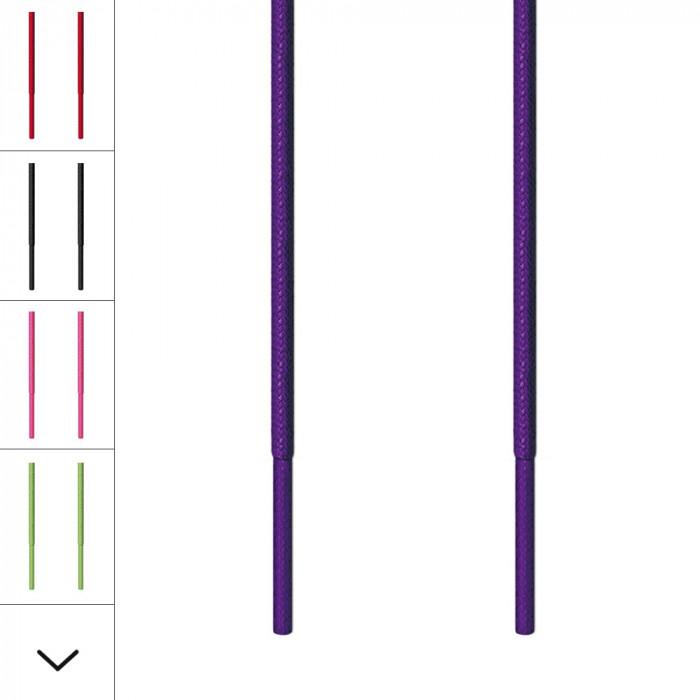 Lacets fins violet