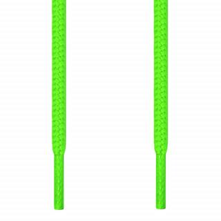 Lacets ronds vert fluo