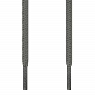 Lacets ronds gris foncé