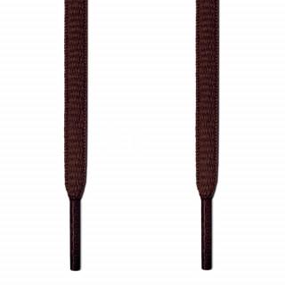 Lacets ovales brun foncé