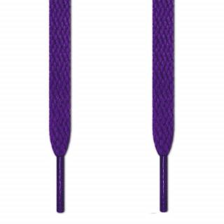 Lacets plats violet