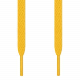 Lacets plats jaune